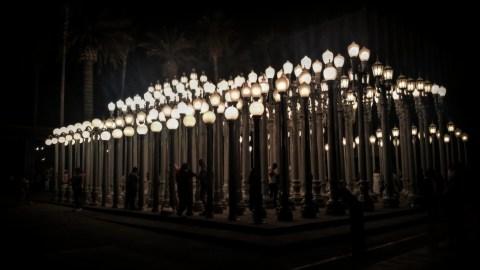 Urban Light a Social Work of Art -Photo by Socialbilitty