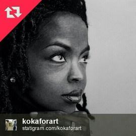 Lauryn Hill AKA L Boggie by Artist Koka for Art