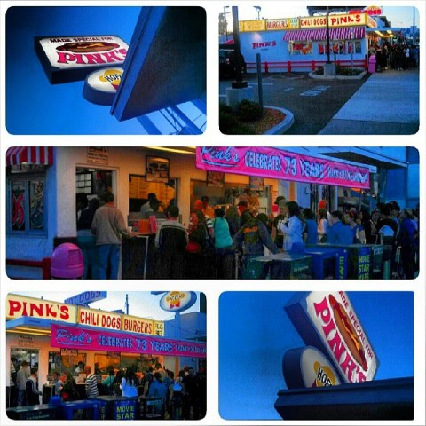 Pinks Hot Dog Stand Photo Taken By Socialbilitty