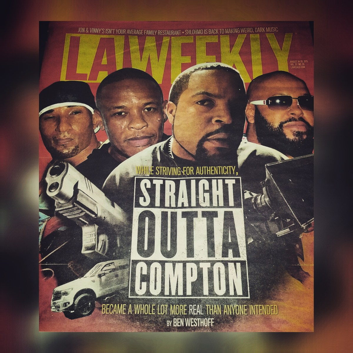 Straight outta compton tomica woods wright red carpet premiere - La Weekly On Straight Outta Compton