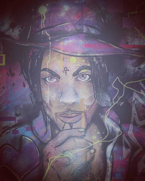 Prince Artwork by Artist THERDAI