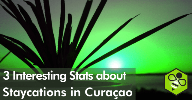 The value of Staycations in Curaçao is estimaed at USD 17.2 million, according to an online survey by Social Bizz-Buzz