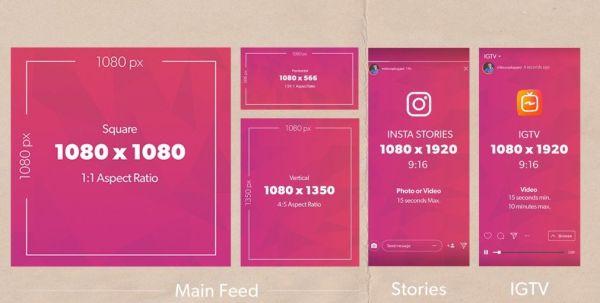 Размер фото для Инстаграмма|Размер картинки в Инстаграм