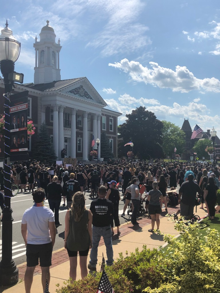 BLM Protest at Woburn City Hall