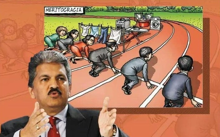 Anand Mahindra babysit grandson, realize plight of working women
