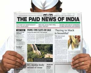 The paid news of India