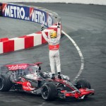 Lewis Hamilton owning the Track