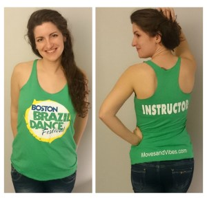 Boston Brazilian Dance Festival t-shirt