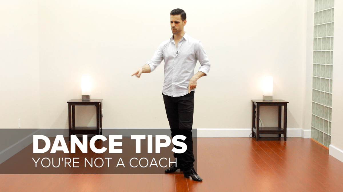 Social Dance Etiquette: Why You Shouldn't Coach Your Dance Partners