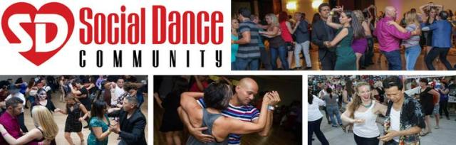 SDC logo and photos of people dancing