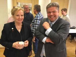 Catharina Bråkenhielm och Miguel Ohdner