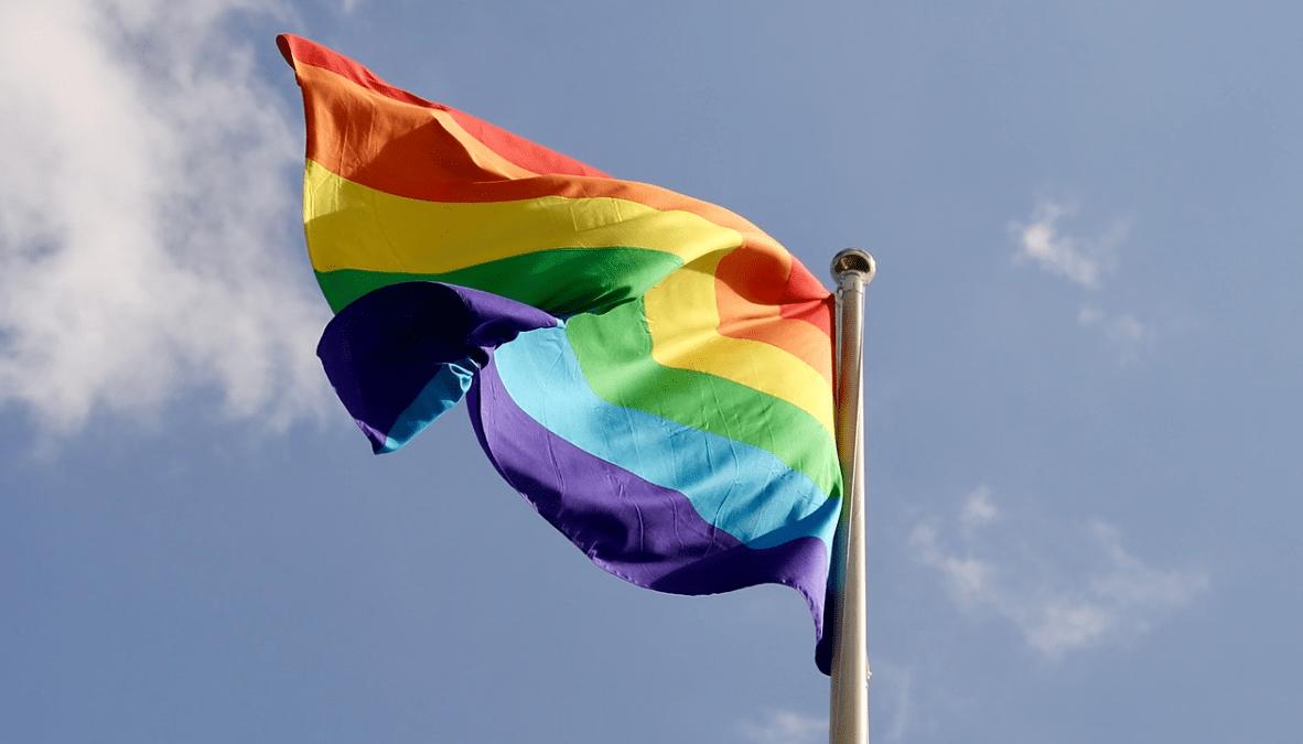 HBTQ-flagga transpersoner