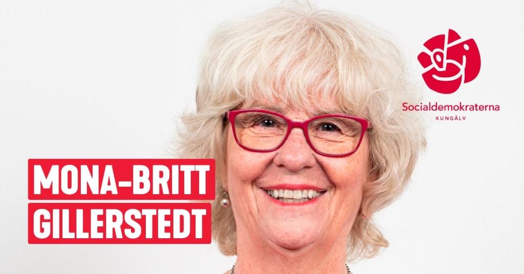 Mona-Britt Gillerstedt, Fd.Distriktssköterska, Kungälv