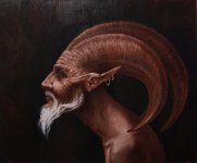 traditional_art___satyr_by_mewannalearn-d2yd429