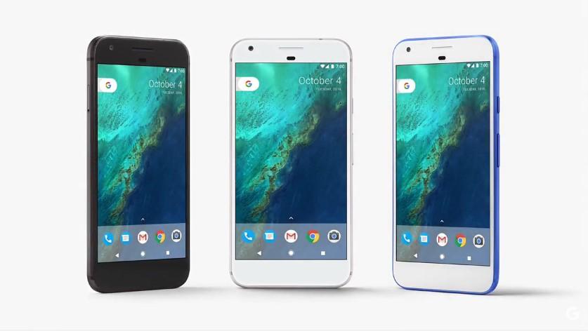 Google Pixel u tri boje