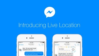 facebook messenger deljenje lokacije