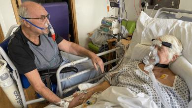 Photo of Korona virus i smrt: Emotivan oproštajni susret bračnog para u bolnici