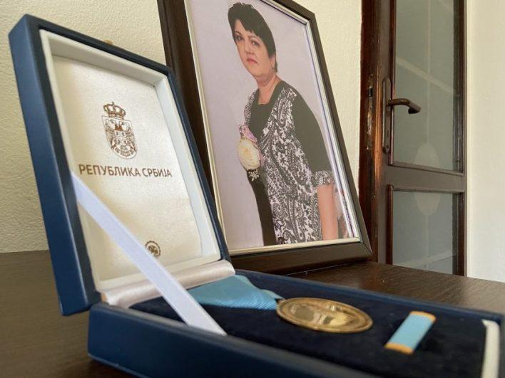 Slavica Gujanica odlikovana je posthumno