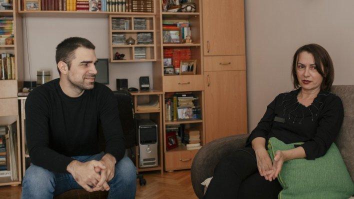 Sin Vuk i supruga Slobodanka