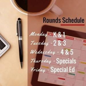 Consultation Schedule