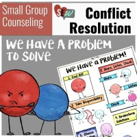 Conflict Resolution Lesson and Posters