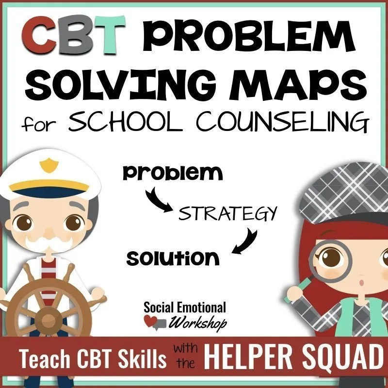 Cognitive behavior decision maps and problem solving maps for elementary school counseling.