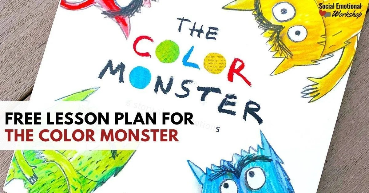 Color monster lesson plan
