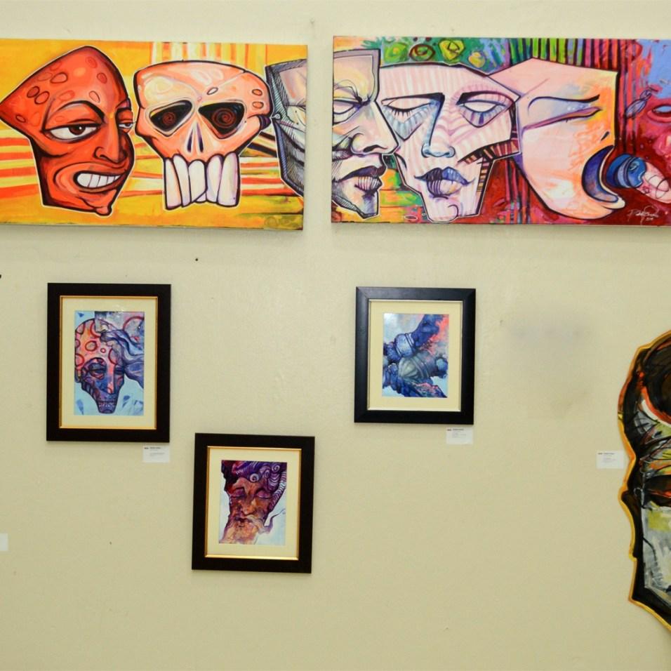 Exposición Metropolitano Pink Rage Art 2