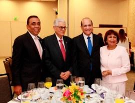 Henry Mejía Oviedo, Roberto Saladín Selin, Julio César Castaños Guzmán y Rosario Graciano de los Santos