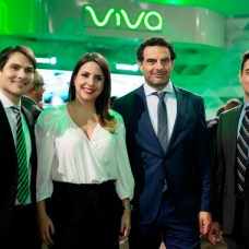 José Villalobos, Laura Castellanos, Elie Hanna y Fabio Arars