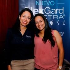 Pamela Espaillat y Gissel Santos