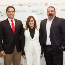 Tomás Lebrón, Laura Peña Izquierdo, Rafael Pérez Barroso y Federico Pérez.