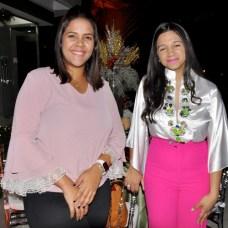 Shantall Sánchez y Laura Belliard