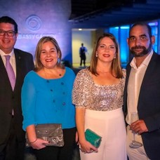 Miguel Dargam, Amelia Izquierdo, Laura Sartori y Eduardo Palacios