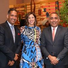 Edwin Durán, Jeannette Acosta y Joely Ramos