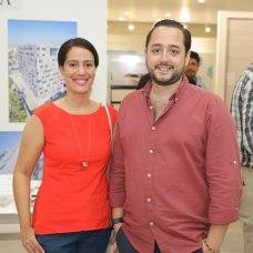 Mirelle Vanderhost y Ernesto Rivera