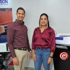 Félix Merán y Aismel Soto.
