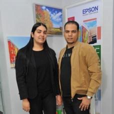 Verónica Sánchez y Milton Guerra.