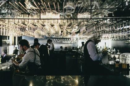 bartenders preparing cocktails and drinks