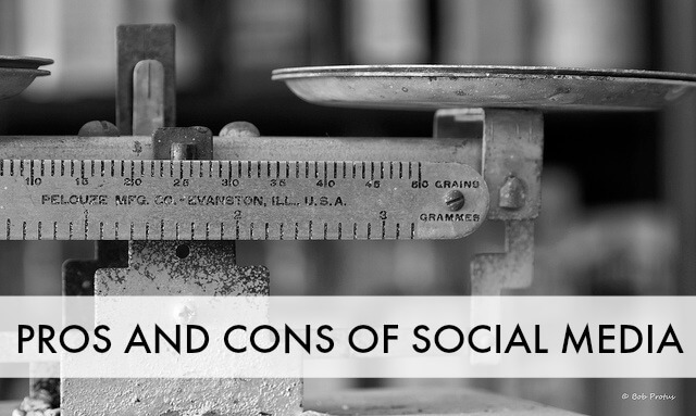 Pros and Cons of Social Media for a Small Business