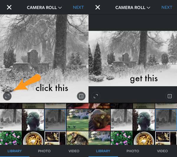 new instagram formats screenshot