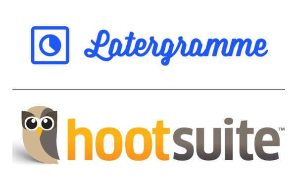 latergramme and hootsuite to schedule instagram posts