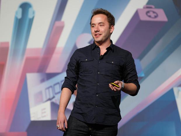 Dropbox CEO Drew Houston at MWC 2013