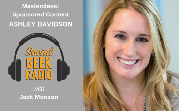 Masterclass: Sponsored Content with Ashley Davidson
