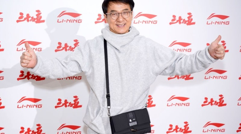 Jackie Chan attends the Li-Ning Menswear Fall/Winter 2020-2021 show as part of Paris Fashion Week on January 18, 2020 in Paris, France.