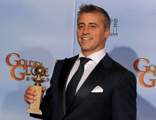 Actor Matt LeBlanc poses in the press room with the Best Performance by an Actor in a Television Series.