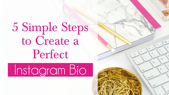 5 Steps to Create the Perfect Instagram Bio