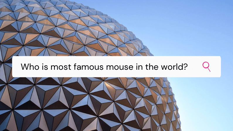 The most famous mouse in the world and how YOU can relate to his story.