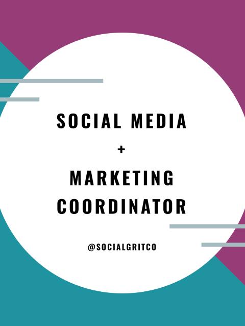 SM + Marketing Coordinator image