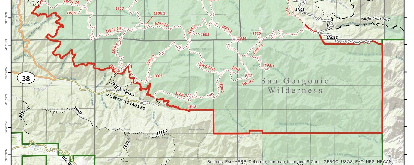 SoCal Six-Pack of Peaks Challenge Modified for Valley Fire